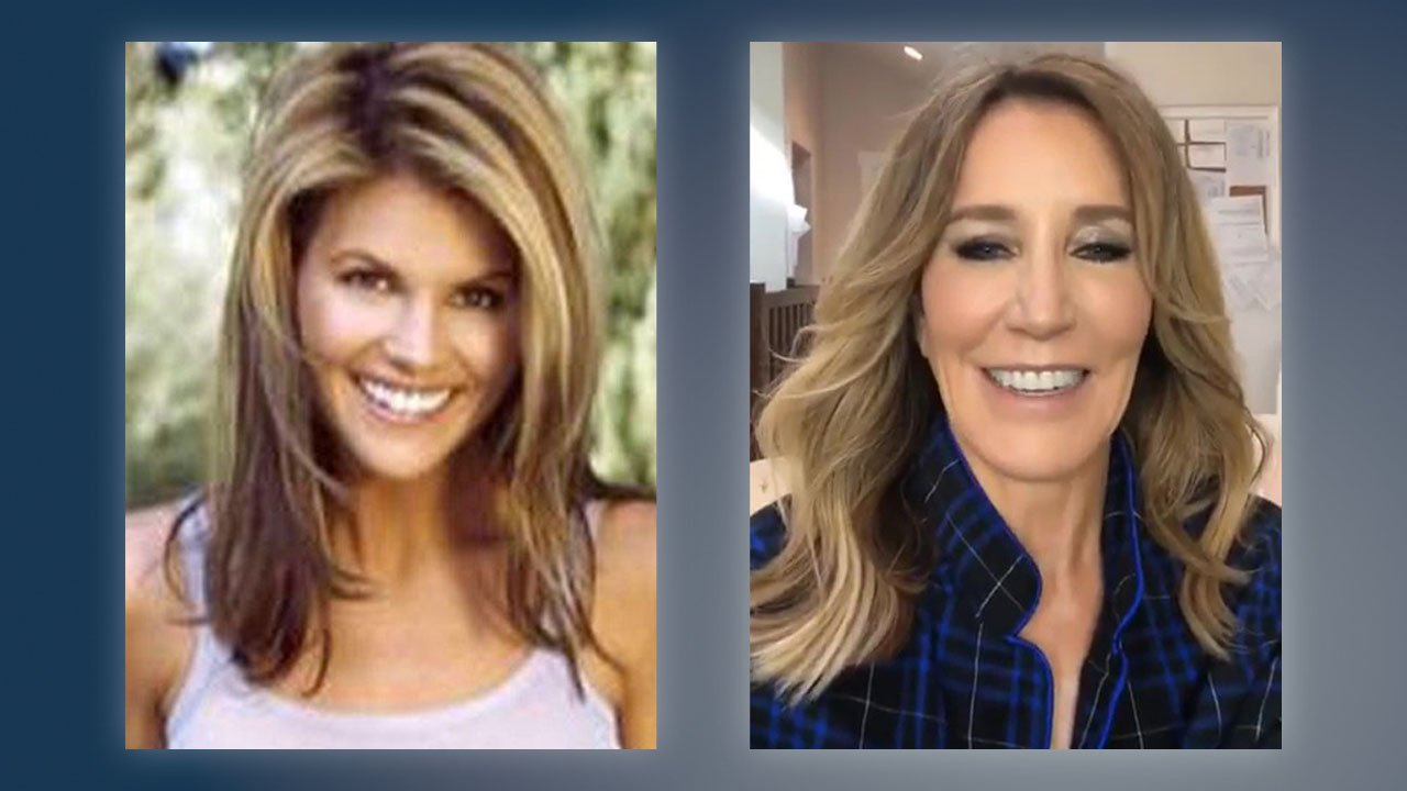 Actresses Lori Loughlin (left) and Felicity Huffman were indicted in a college admissions bribery scandal. (Facebook/Instagram)