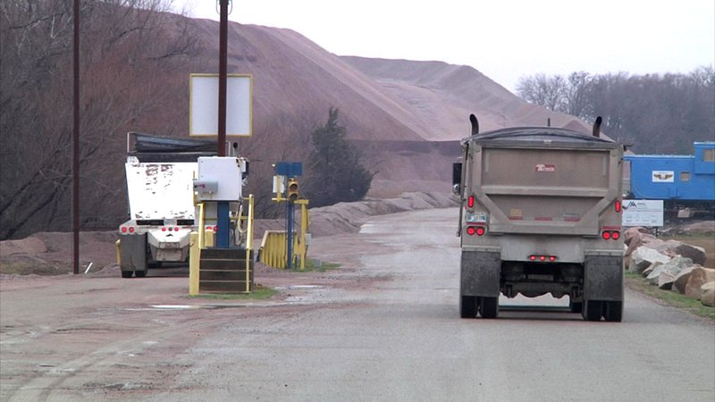 Johnston County is one of Oklahoma's leading producers of sand and gravel. (KTEN)