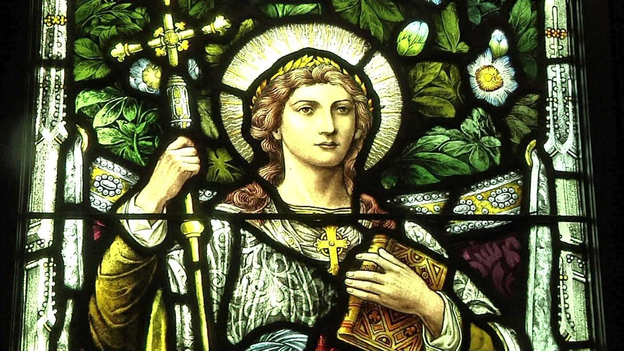 St. Luke's Episcopal Church in Denison features thee Tiffany stained glass windows. (KTEN)