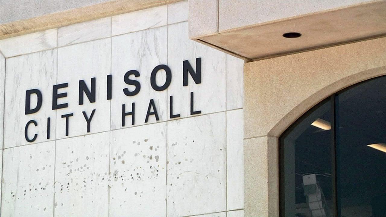 Denison City Hall. (KTEN)
