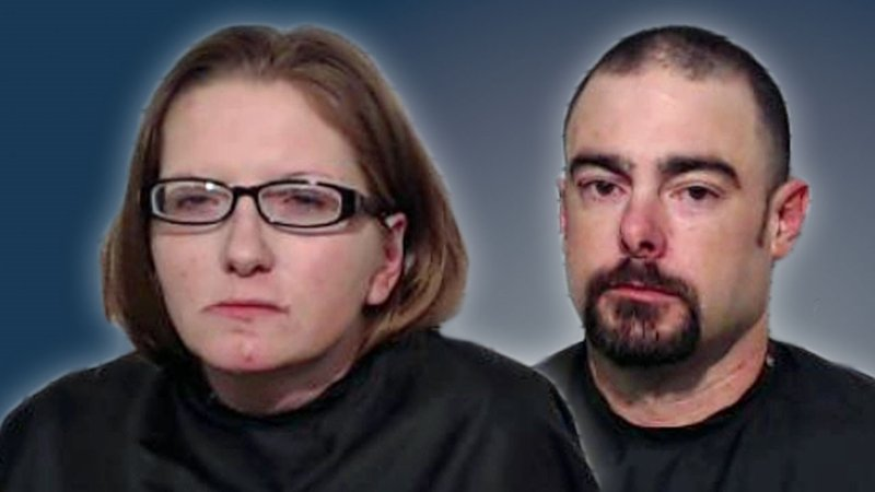 Nichole Greiss and Jimmy Fox were charged with forgery. (Grayson County Sheriff's Office)
