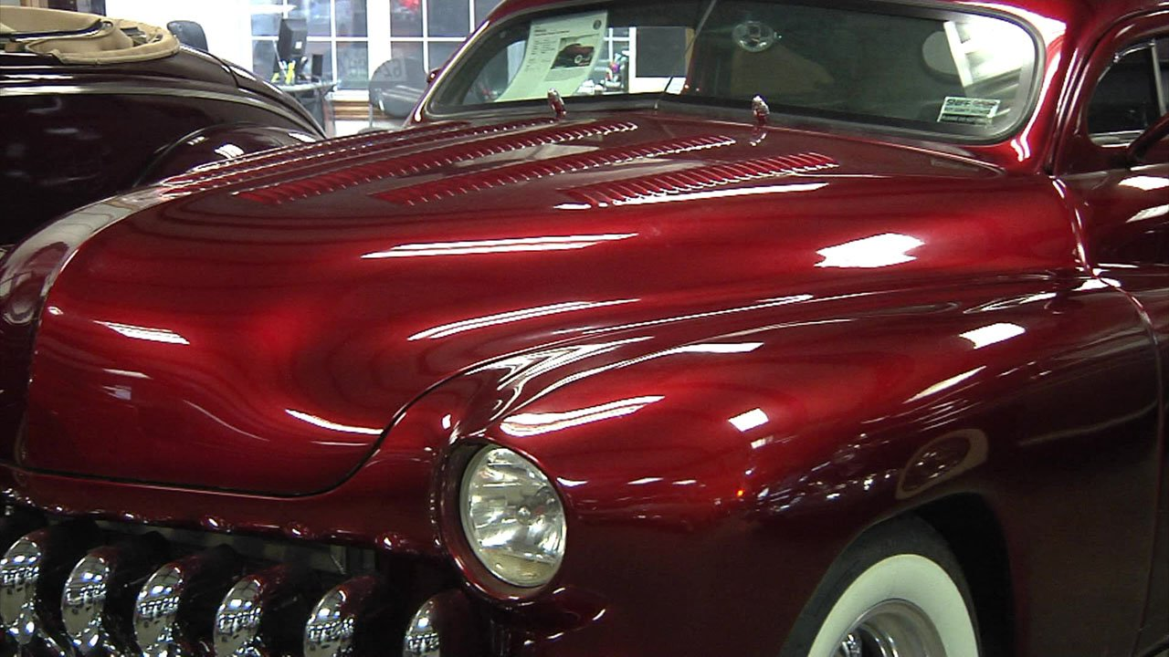 One of the classic cars at Goodwill's Mission Possible fundraising event. (KTEN)