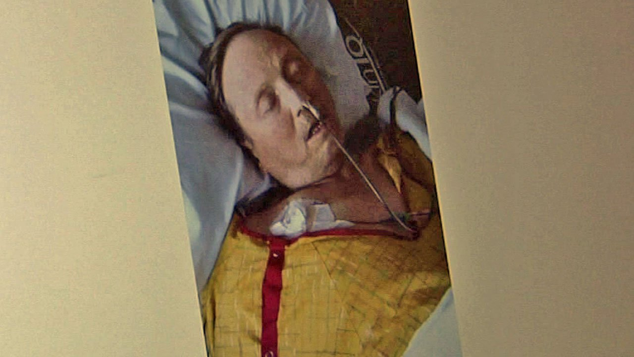 Rusty Walker was in a coma for more than 50 days. (Courtesy)