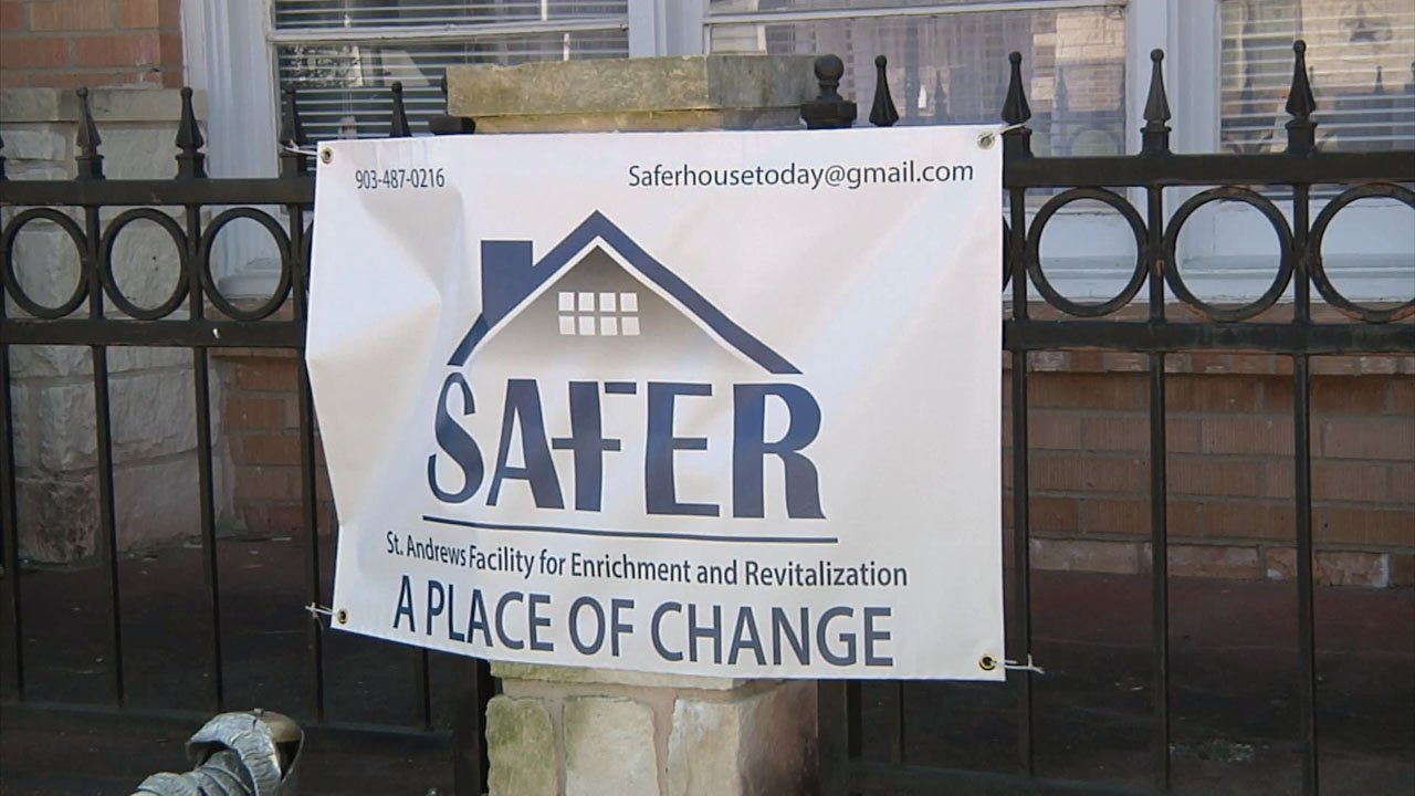 SAFER in Sherman provides help for young men with addiction problems. (KTEN)