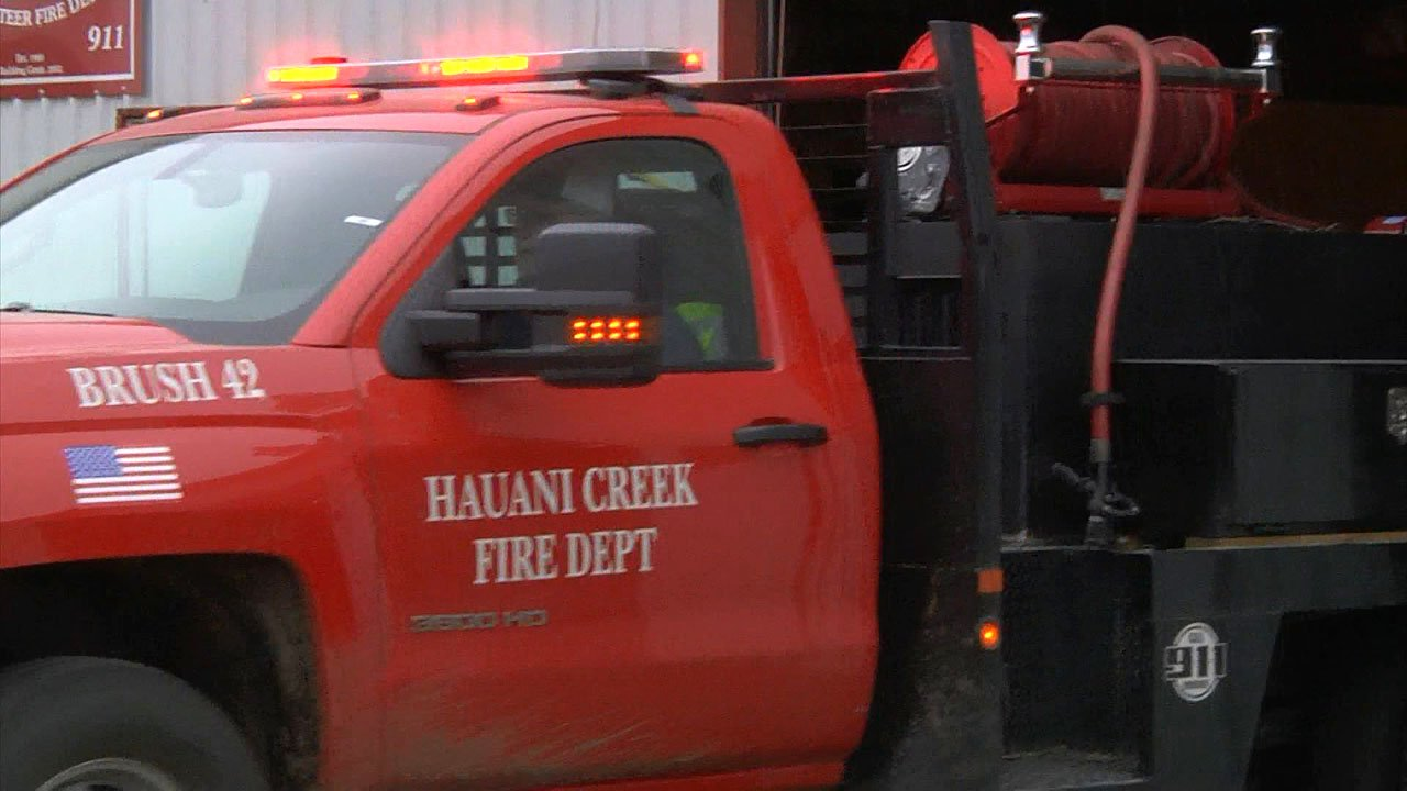 The Hauani Creek Fire Department has a new training room and an improved insurance rating. (KTEN)