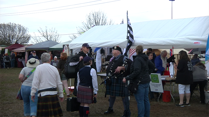 The Sherman Celtic Festival kicks off it's third year Saturday across from Midway Mall.