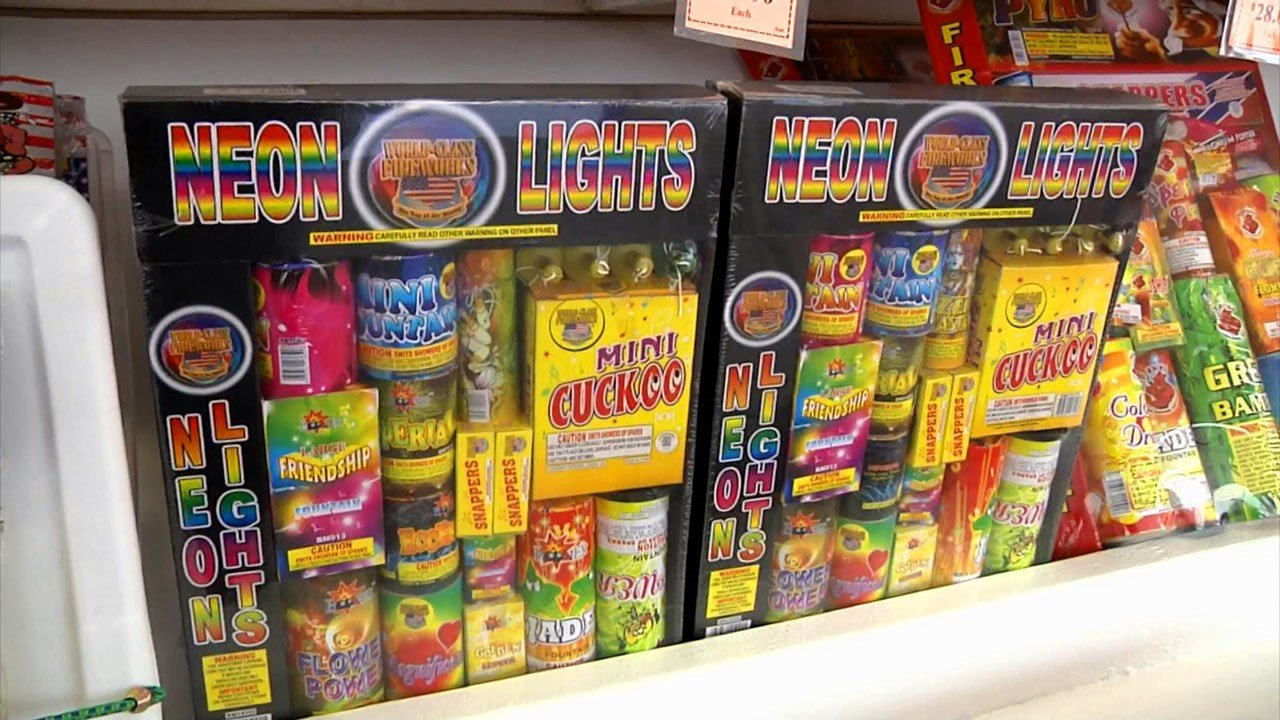 Two bills in the Texas Legislature would expand fireworks sales. (KTEN)