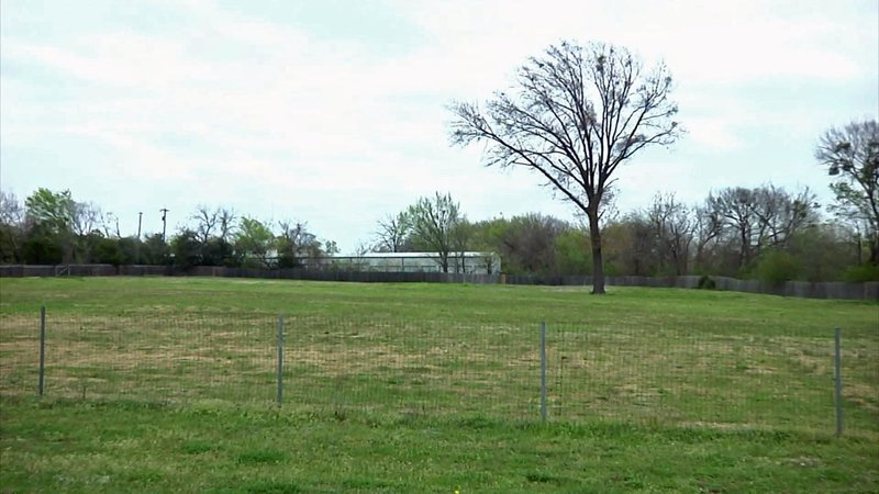 This 5.8-acre lot on West Morton Street could be site of a new animal shelter in Denison. (KTEN)