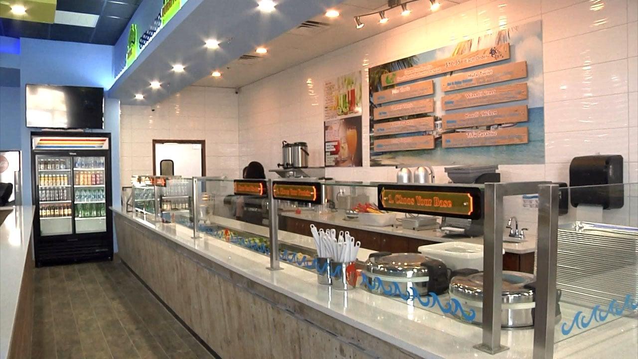 The Hau'oli Poke restaurant in Sherman will feature Hawaiian-theme dishes. (KTEN)