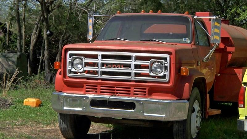 This truck was stolen from the Homer Volunteer Fire Department on April 5, 2019. (KTEN)