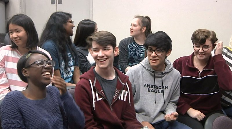 Ardmore High School Students are state champs in speech and debate. (KTEN)