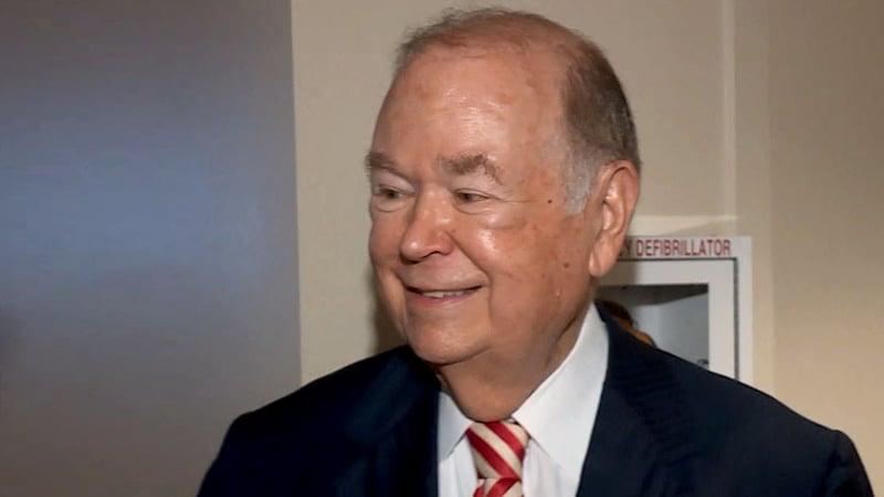 Former OU president David Boren. (File/KFOR)