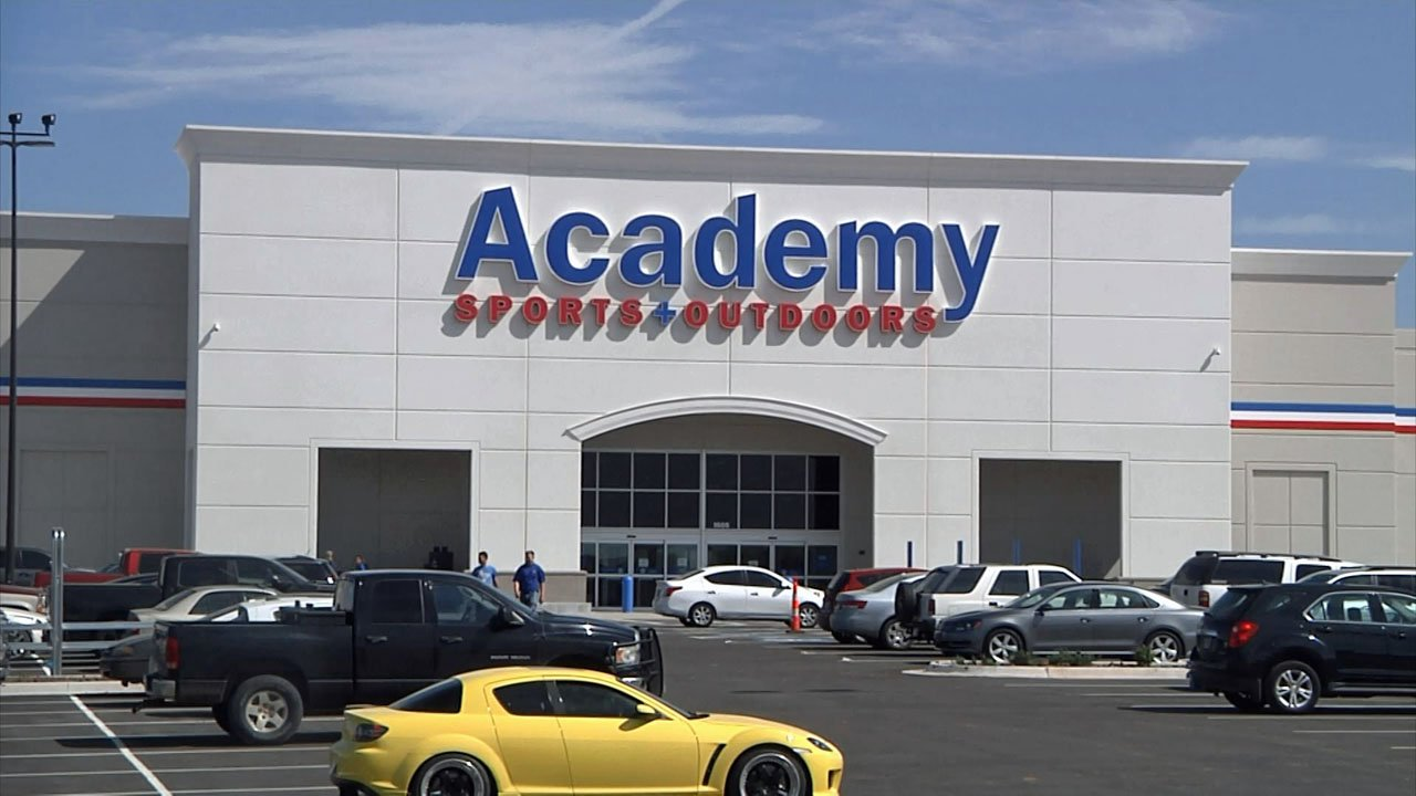 Ardmore's new Academy store is scheduled to open on April 22. (KTEN)
