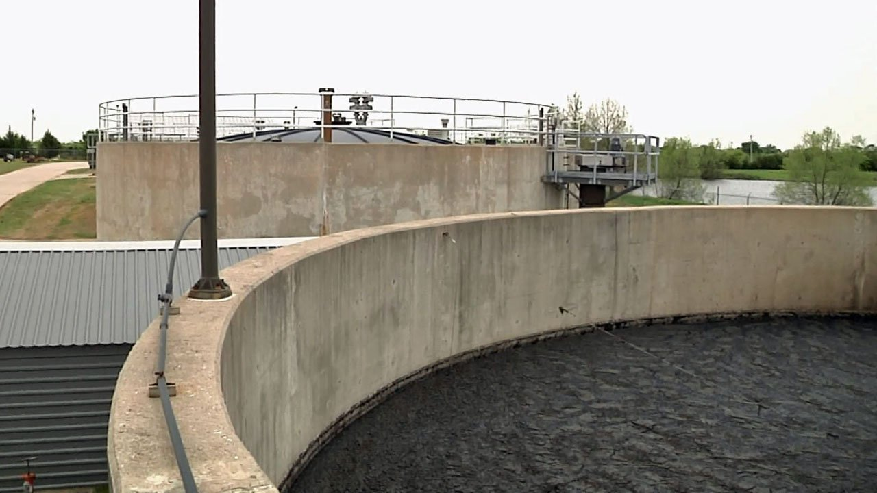 Two grants will help Durant's wastewater plant deal with sludge. (KTEN)