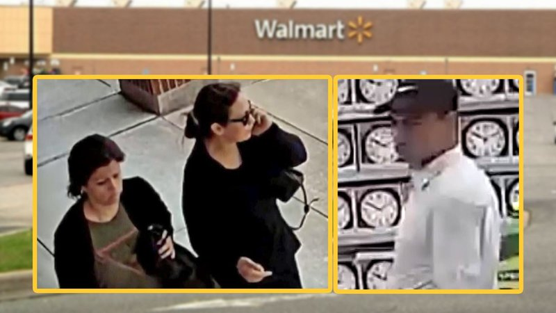 Two women and a man are wanted in connection with a financial scam in Sherman. (Sherman PD)