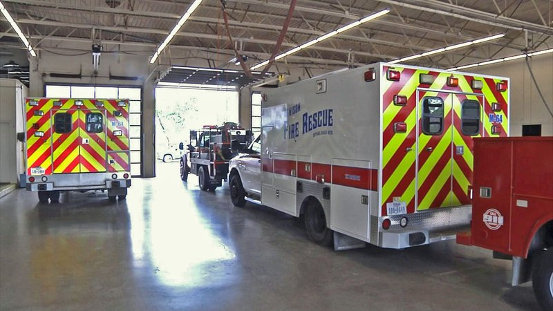 The City of Denison considered and rejected a plan to outsource the fire department's ambulance service. (KTEN)
