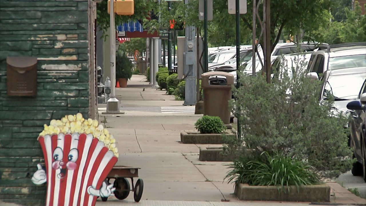 Downtown Sherman merchants said they were opposed to a proposed tattoo parlor and novelty shop. (KTEN)