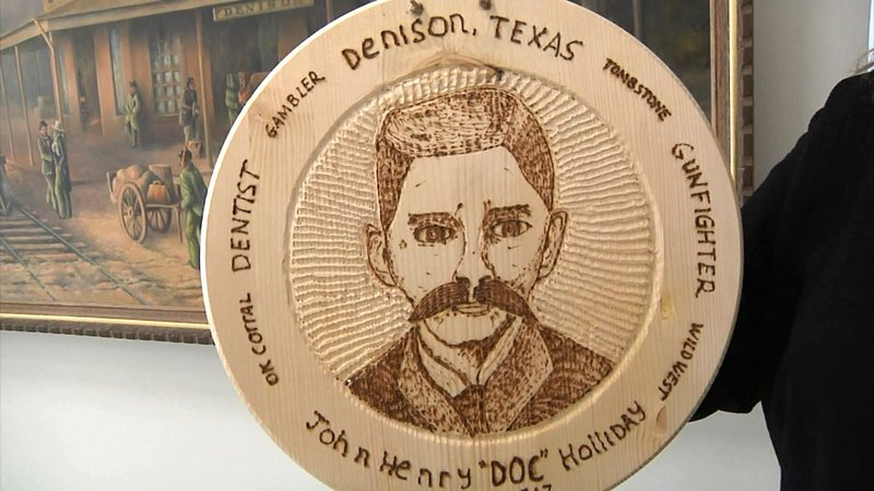 Doc Holliday is a part of early Denison history. (KTEN)