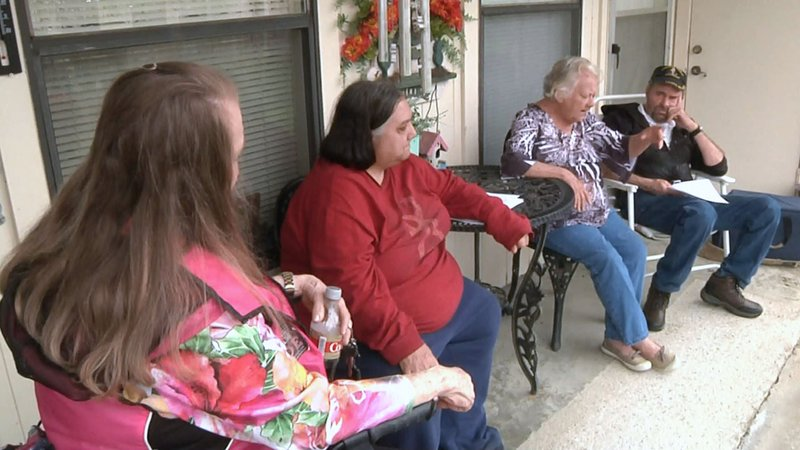 Residents of the Katy Creek Retirement Village say they're opposed to plans for an asphalt plant nearby. (KTEN)