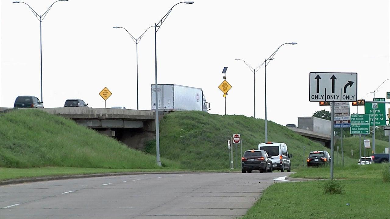 A multi-million dollar expansion plan is set for US 75 in Sherman. (KTEN)