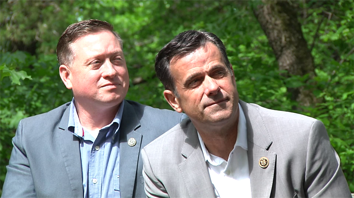 United States Congressman John Ratcliffe visits Fannin County to usher in a new era for Lake Fannin