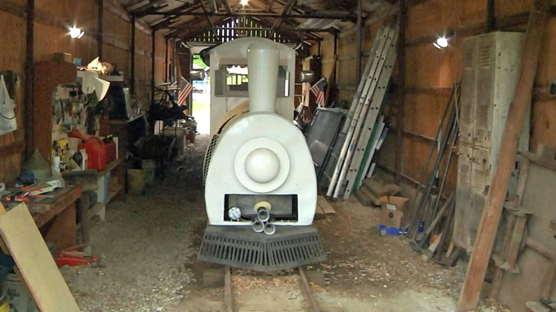 The train ride at Ada's Wintersmith Park is in need of an upgrade. (KTEN)