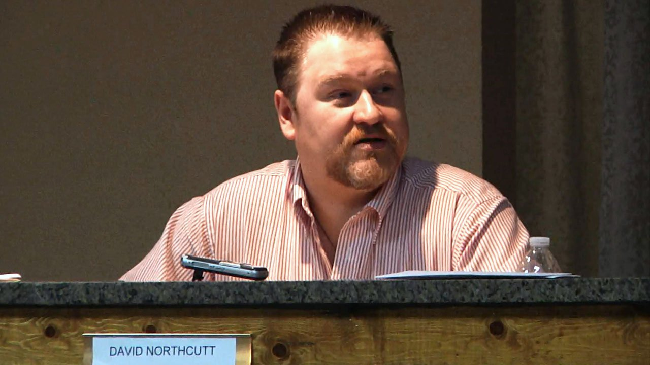 Former Achille mayor David Northcutt. (File/KTEN)
