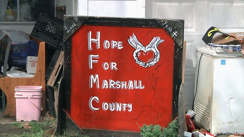 Hope for Marshall County is collecting food items to provide students with lunches during the summer months. (KTEN)