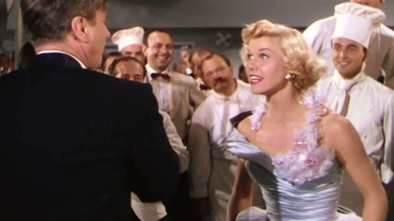 """Doris Day sings """"I'm Gonna Ring the Bell Tonight"""" in the 1952 film """"April in Paris."""" (Warner Bros.)"""