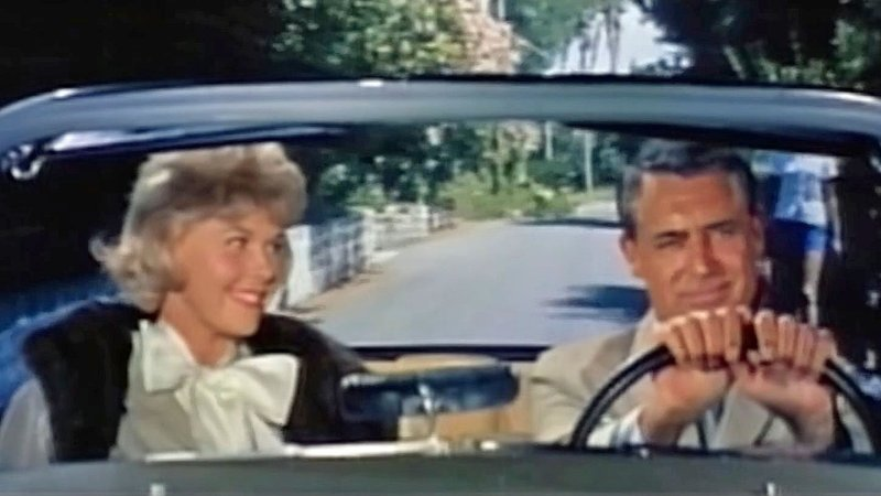 """Doris Day with Cary Grant in the 1962 film """"That Touch of Mink."""" (Arwin Productions)"""