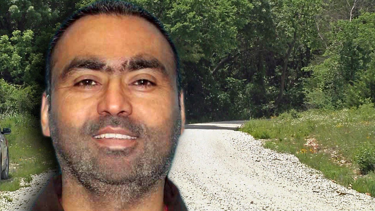 The body of Mandeep Singh was found near a burning vehicle with two bodies in rural Cooke County. (KTEN)