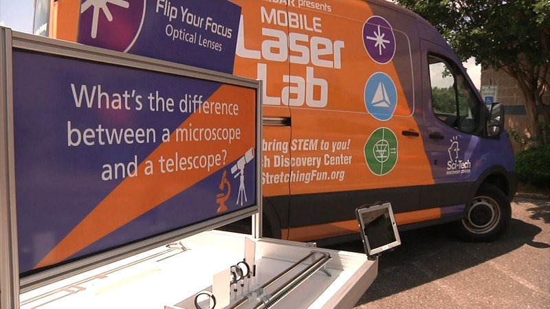 The Finisar Mobile Laser Lab is on its way to North Texas schools. (KTEN)
