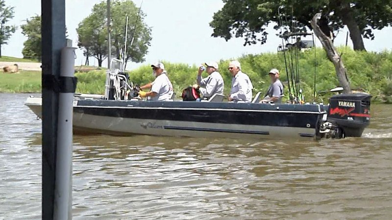 Anglers go fishing on Lake Texoma. (KTEN)