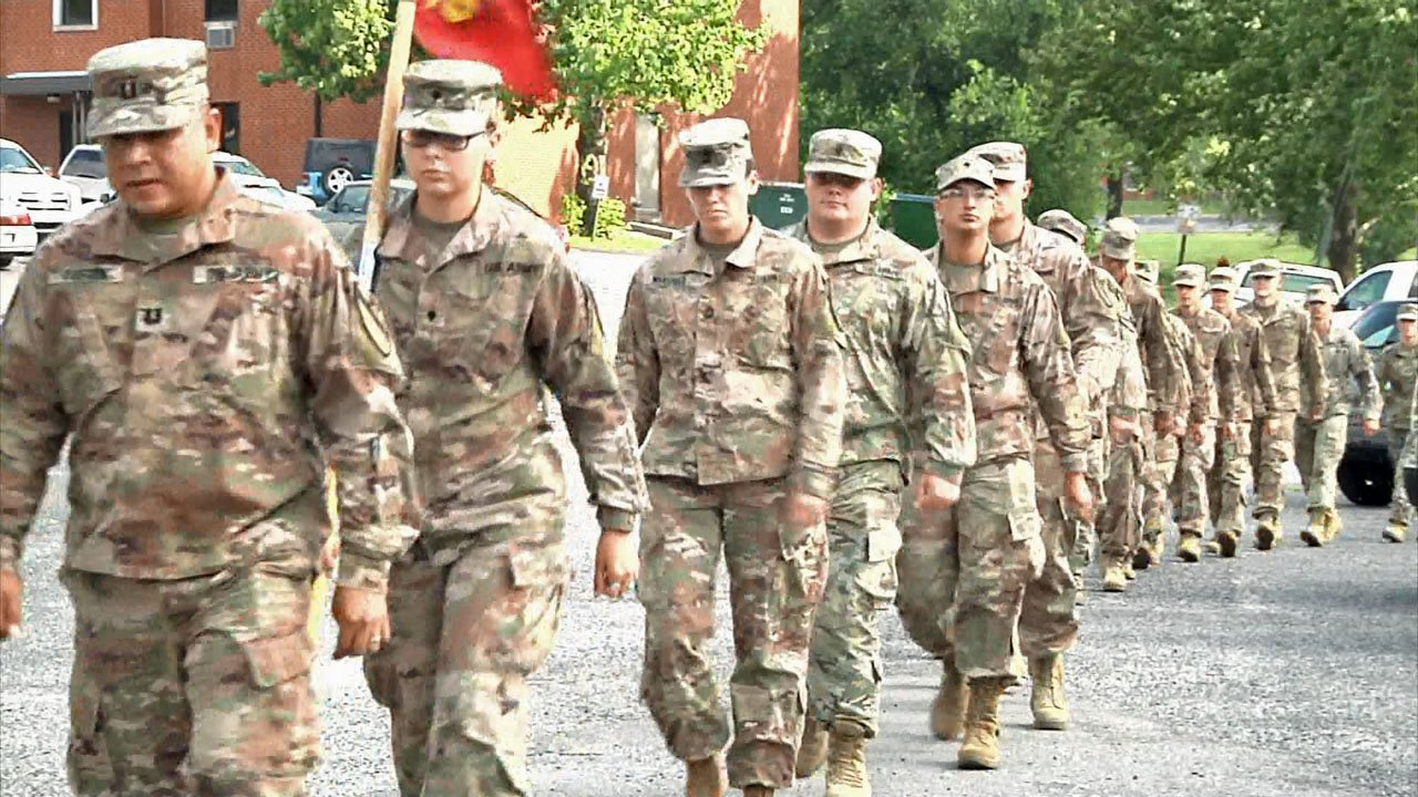 An Oklahoma Army National Guard Unit returned to Ada after a deployment to Kuwait. (KTEN)