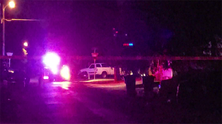 Sherman police were investigating a possible drive-by shooting Friday night