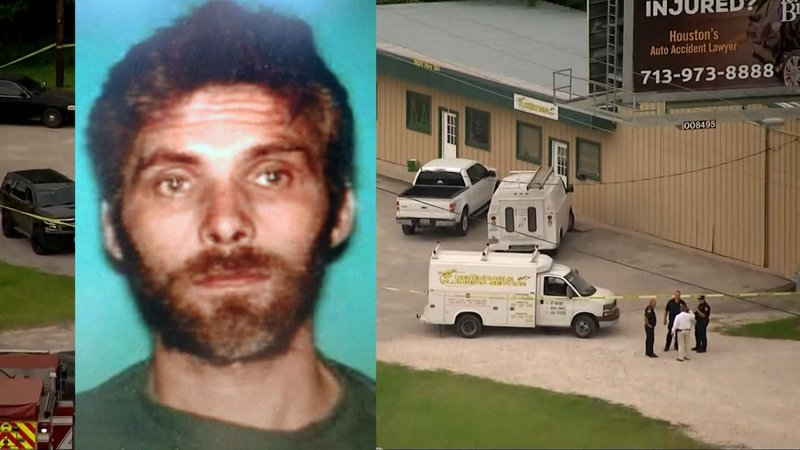 East Texas law enforcement was looking for Pablo Vito, wanted for killing a woman and wounding three other people. (KPRC via NBC News)