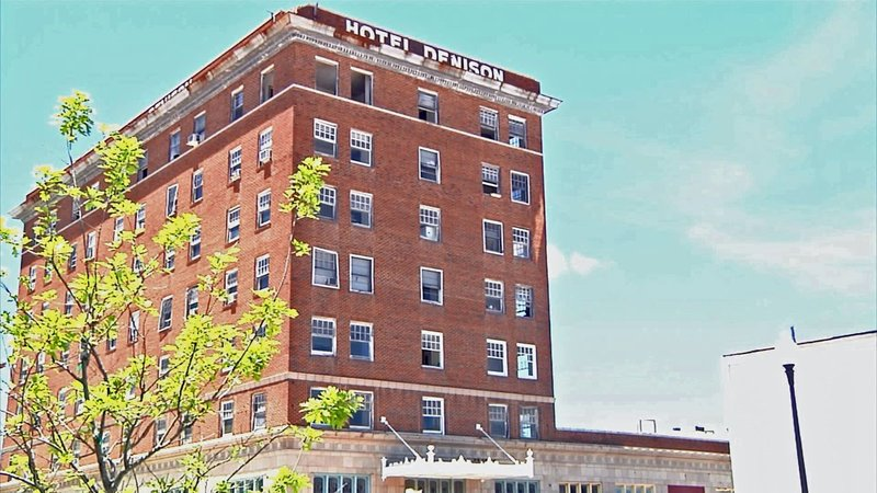 A long-overdue makeover is underway at the Hotel Denison. (KTEN)