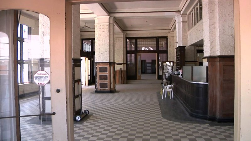 The lobby of the Hotel Denison will be restored to its original glory. (KTEN)