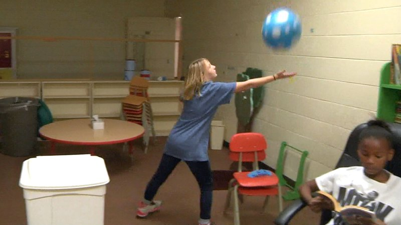 A former Ardmore church is the new home of the Boys & Girls Club. (KTEN)