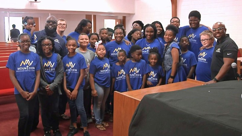 The Mount Zion Missionary Baptist Church in Ardmore is sending a youth group to a conference in Baltimore. (KTEN)