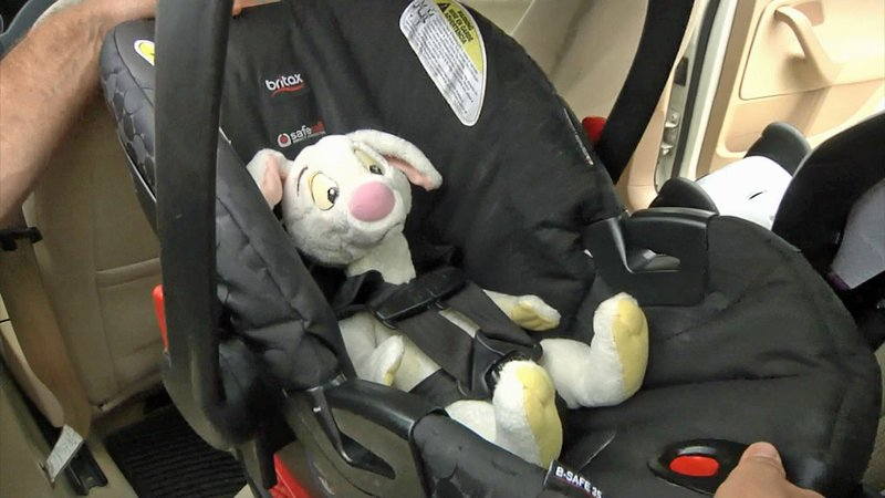 There's a right way and a wrong way to buckle up your bundle of joy. (KTEN)