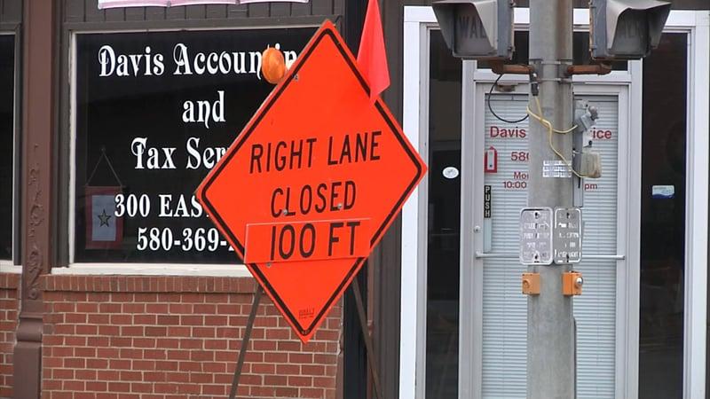 Downtown Davis merchants are bracing for disruption during a Main Street repair project. (KTEN)