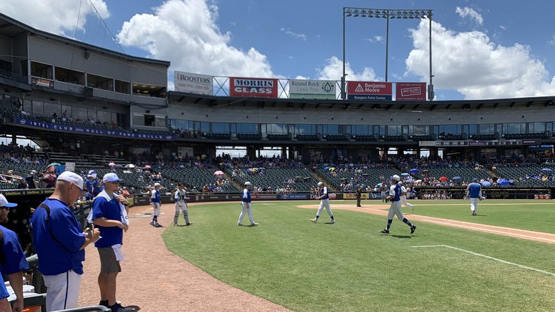 It's Van Alstyne vs. Blanco in the semifinal game of the state championship in Round Rock, Texas. (KTEN)