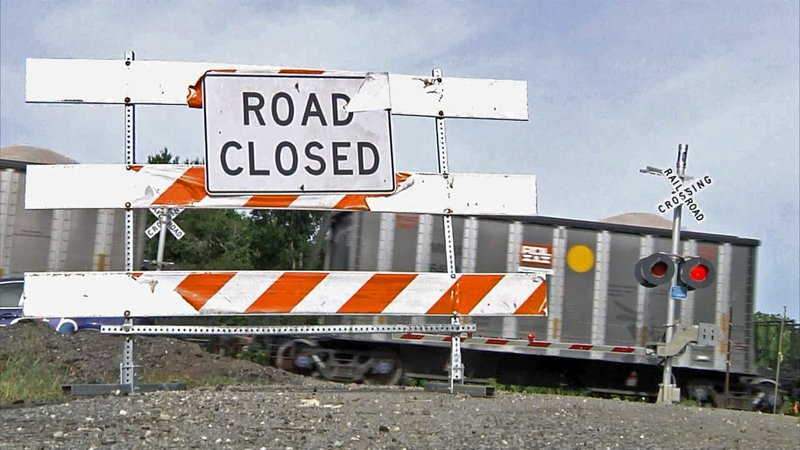 A road that once linked communities in southeast Sherman has been closed for four years. (KTEN)
