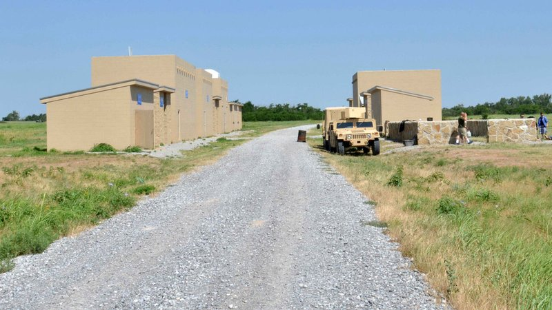 A 2013 photo of a training area at Fort Sill, Oklahoma. (Pfc. Ian Valley/US Army photo)