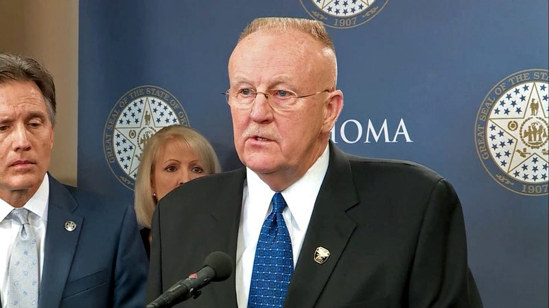 Oklahoma Department of Corrections director Joe Allbaugh announced his resignation on June 12, 2019. (KFOR/File)