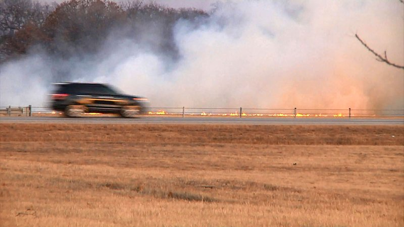 Wildfires are just one of the potential disasters that Marshall County emergency managers are preparing for. (KTEN)
