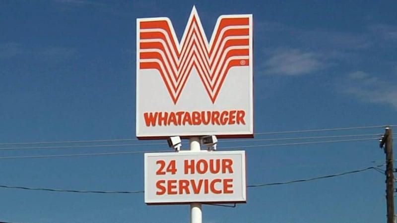 The Whataburger restaurant in Denison. (KTEN/File)