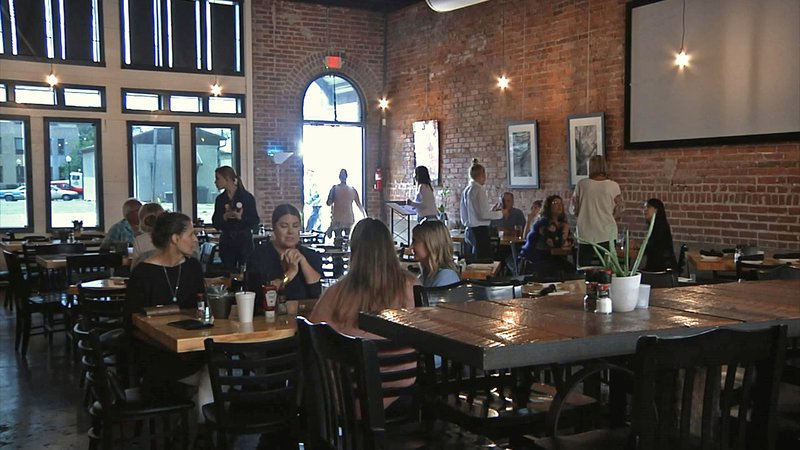Ardmore's new Mill Street Tavern occupies a space once used by the Berryhill Tin Shop. (KTEN)