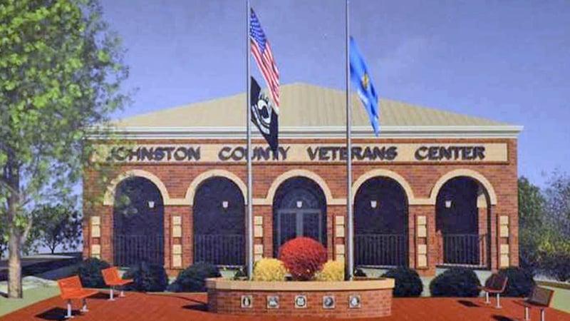 An artist's rendering of the planned Johnston County Veterans Center in Tishomingo. (Facebook)